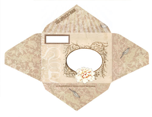picture about Free Envelope Printable referred to as The Gals of Design and style: Cost-free Envelope Templates versus Papaya Artwork