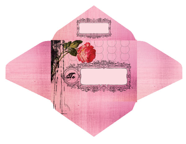 the ladies of design free envelope templates from papaya art