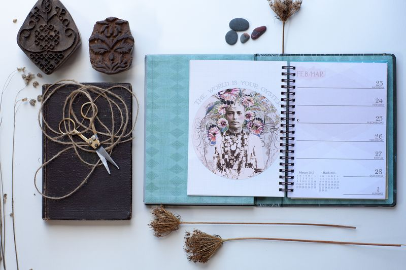 2015 planner by papaya