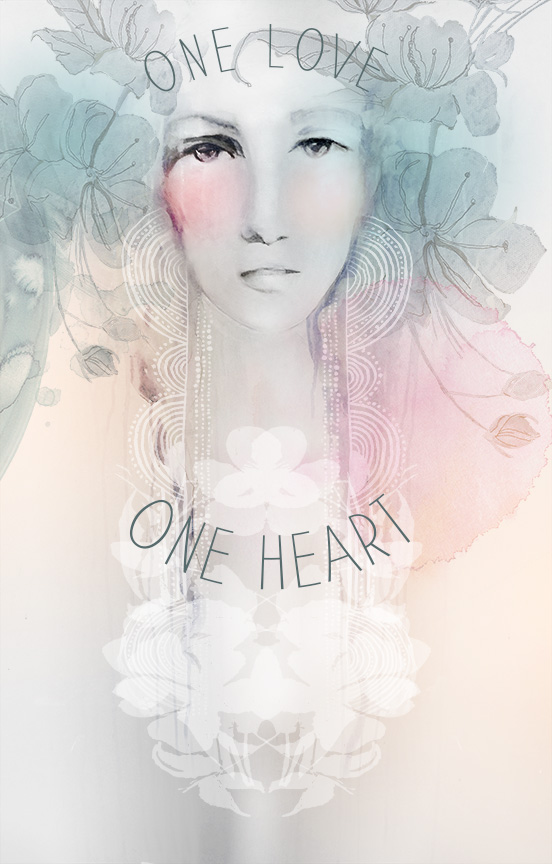 One Heart by Anahata Katkin for PAPAYA